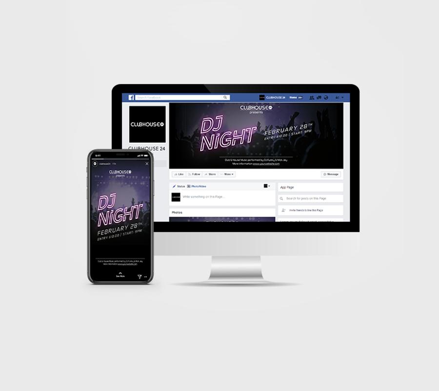 DJ Night Social Media Pack